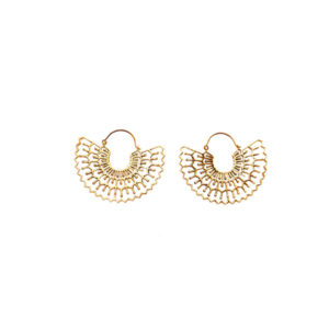 Hollow Wing Earrings