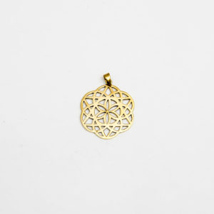 Star of David Seed Of Life Pendant